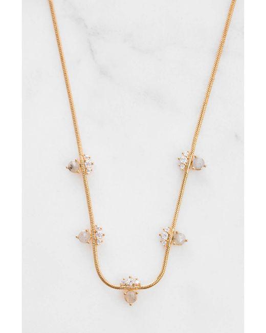 Tai - Metallic Rittichai Snake Chain Nck/ Labradorite/cz - Lyst