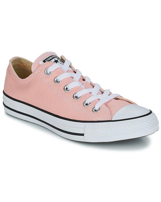 Converse - Pink Chuck Taylor All Star Ox Shoes (trainers) - Lyst