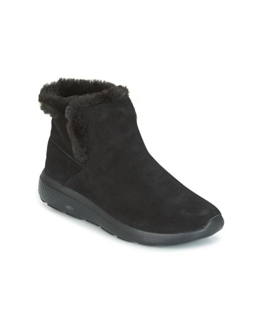 Skechers - On The Go City 2 Women's Mid Boots In Black - Lyst