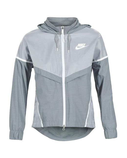Nike | Gray Tech Windrunner Women's Windbreakers In Grey | Lyst