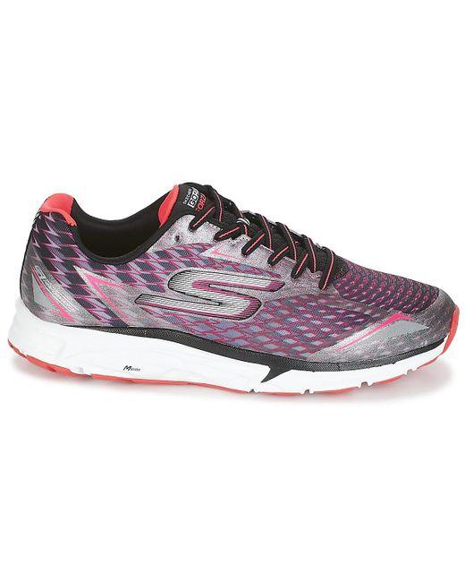 040bcf8d6f5 ... Lyst Skechers - Go Run Forza Women s Running Trainers In Purple ...
