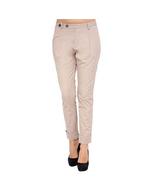 DIESEL - Natural - Women's Trousers Pungyo Women's Trousers In Beige - Lyst