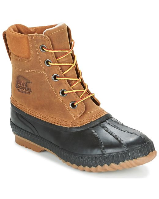 Sorel | Cheyanne Ii Men's Mid Boots In Brown for Men | Lyst