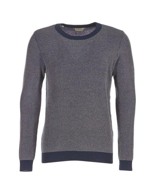 SELECTED - Jops Men's Sweater In Blue for Men - Lyst