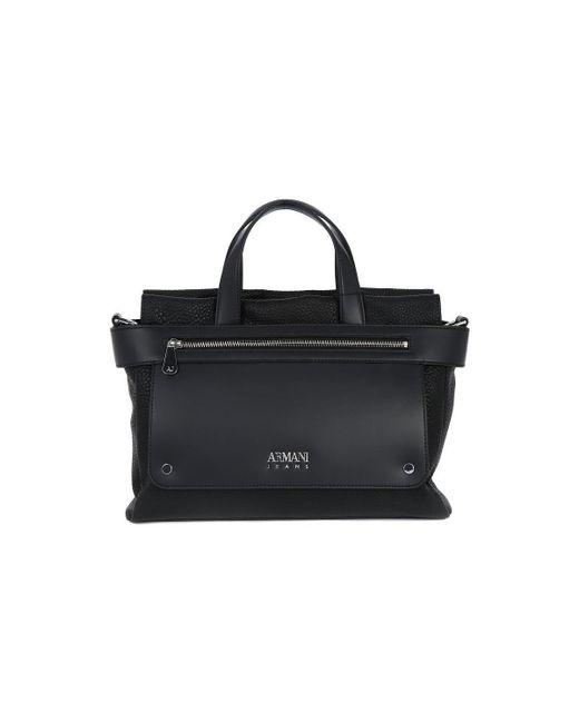 Armani Jeans | Black 020shopping Bag Women's Handbags In Multicolour | Lyst