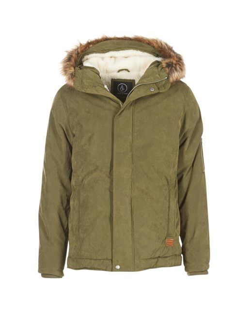 Volcom - Goodman Jkt Men's Jacket In Green for Men - Lyst