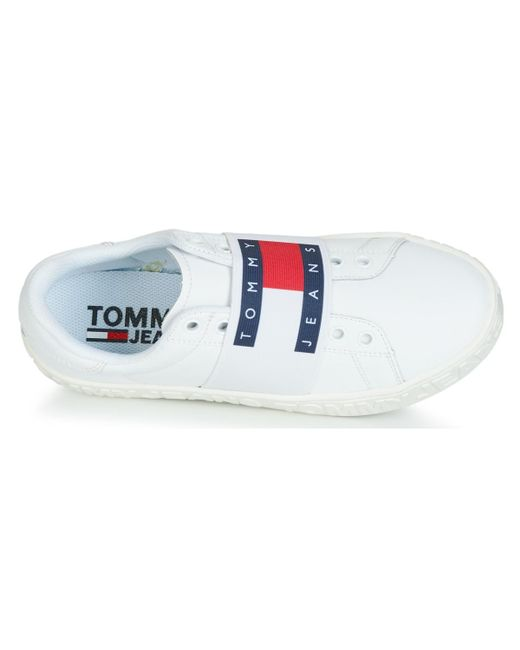 7c456d9483095 Tommy Hilfiger Jaz 2a Women's Shoes (trainers) In White in White - Lyst