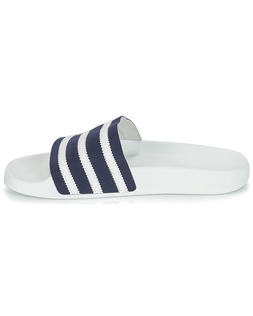 new concept a348f 5304e ... Lyst Adidas - Adilette Mens In Blue for Men ...