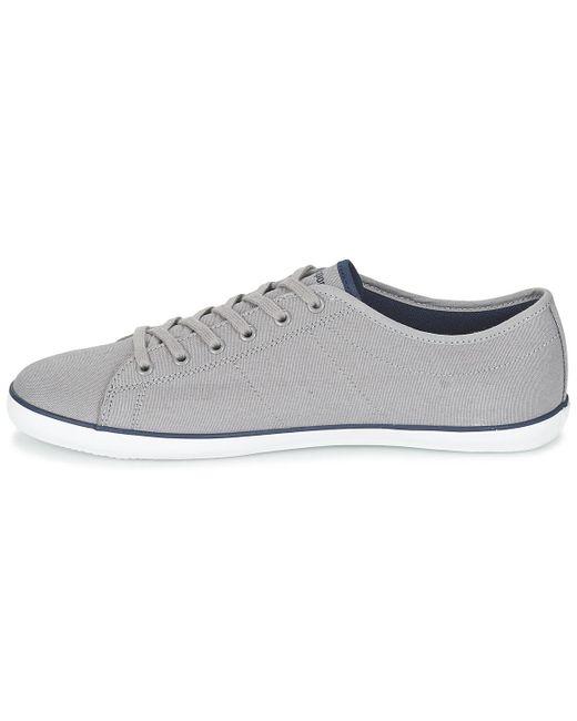 Mens Slimset CVS Low-Top Sneakers, Grey Le Coq Sportif