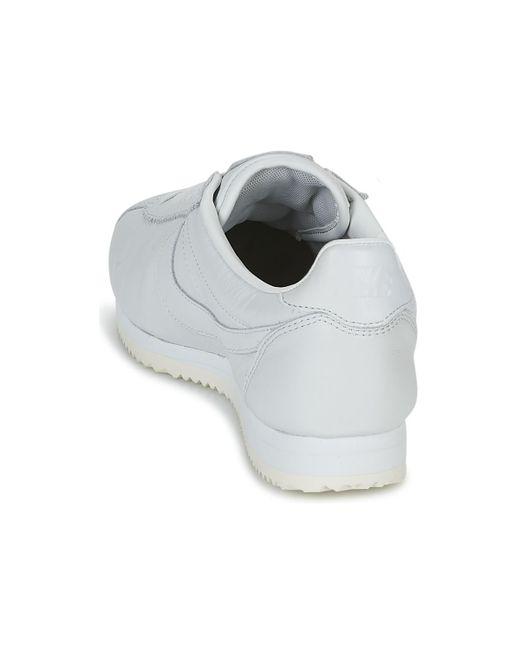 online retailer a61de 77111 ... Lyst Nike - Classic Cortez Premium Men s Shoes (trainers) In White for  Men ...
