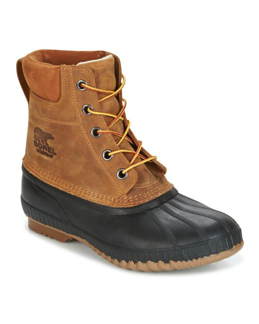 Sorel - Brown Cheyanne II hommes Chaussures en Marron for Men - Lyst