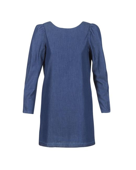 ONLY - Mila Women's Dress In Blue - Lyst