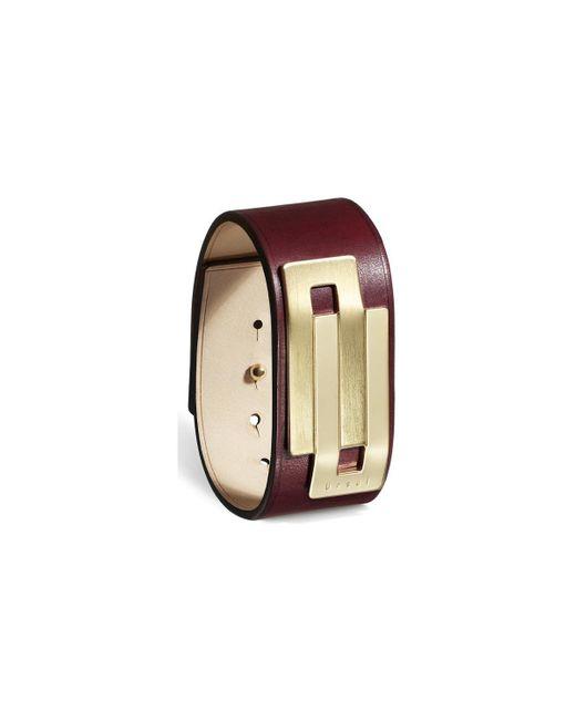 Ursul - Bracelet Embrace 26 I Purple / Gold Woman Autumn/winter Collect Women's Bracelet In Purple - Lyst