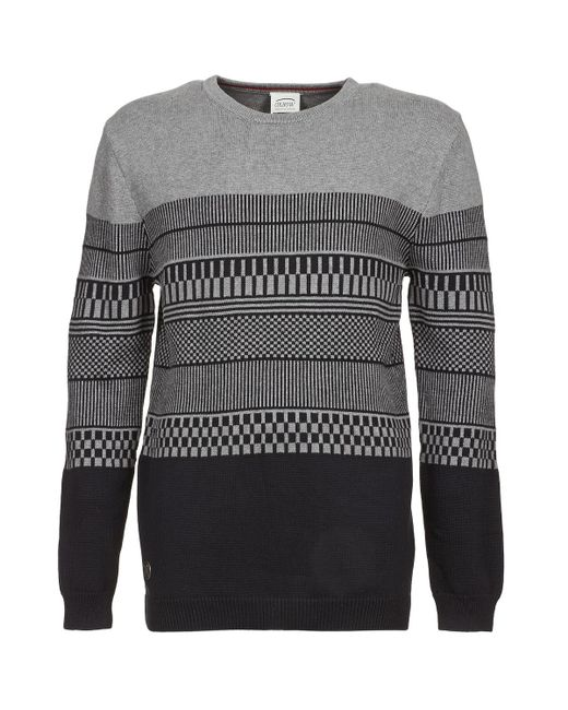 Oxbow | Gray Lachen Men's Sweater In Grey for Men | Lyst