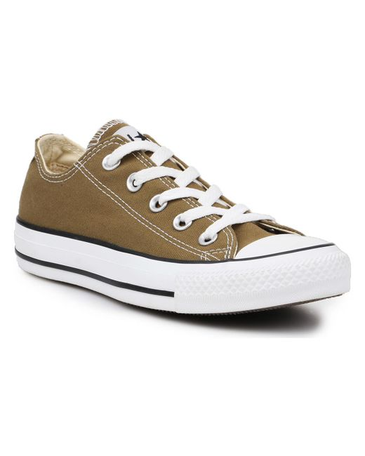 d51a165d463f Converse - Chuck Taylor All Star Ox Women s Shoes (trainers) In Brown - Lyst  ...