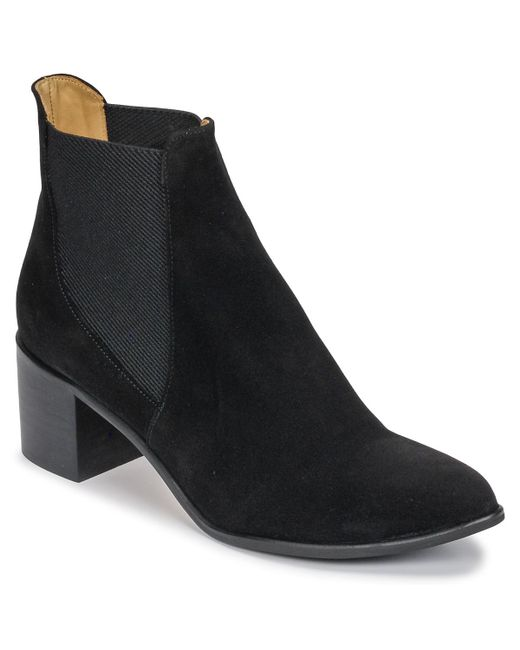 Emma Go - Gunnar Women's Low Ankle Boots In Black - Lyst