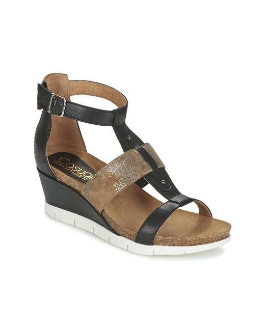 Casual Attitude - Bengaliono Women's Sandals In Black - Lyst