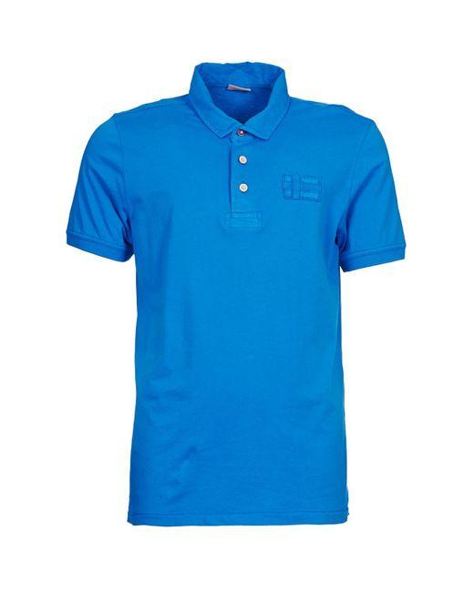 Napapijri   Eseo Men's Polo Shirt In Blue for Men   Lyst