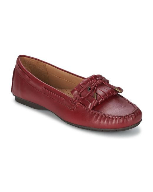 Sebago | Meriden Kiltie Women's Loafers / Casual Shoes In Red | Lyst