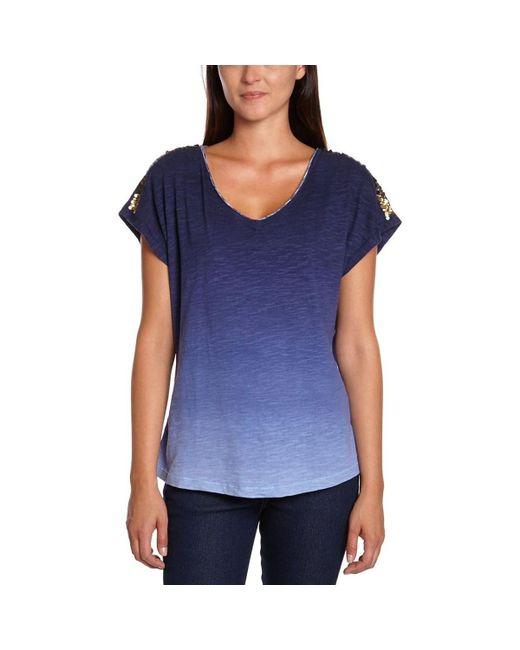 Tommy Hilfiger | - Women's T-shirt Kasha Women's T Shirt In Blue | Lyst