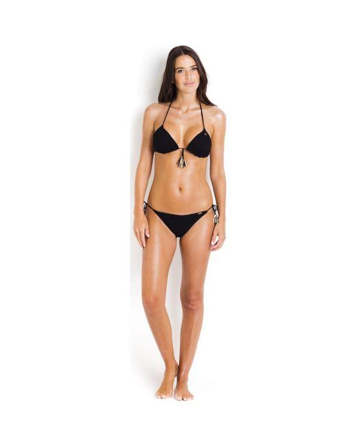 Bikini Bottom to Tie BANANA MOON Black - Jaka Crochet Banana Moon Best Seller Online Get To Buy Cheap Price Visit Sale Online Order Cheap Price uBbOg