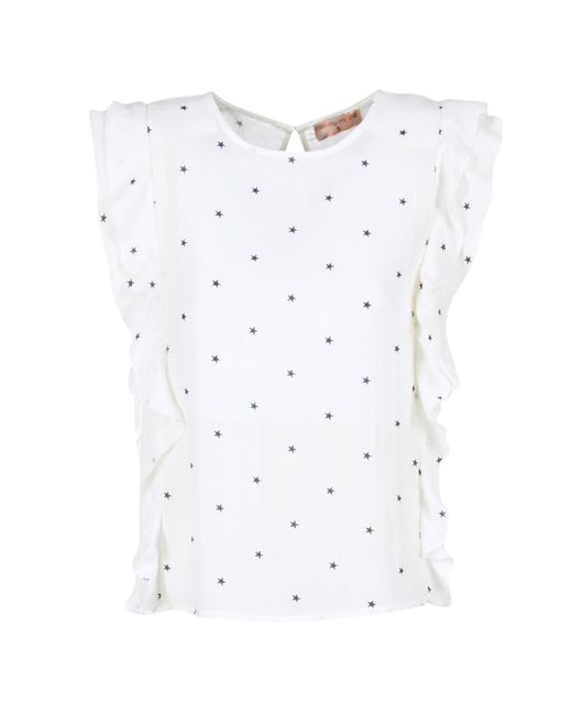 Moony Mood | Germios Women's Blouse In White | Lyst