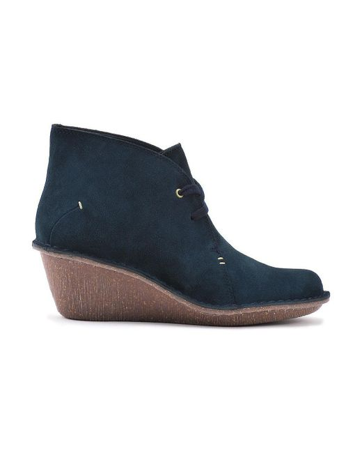 Clarks | Blue Marsden Lily Women's Low Ankle Boots In Multicolour | Lyst