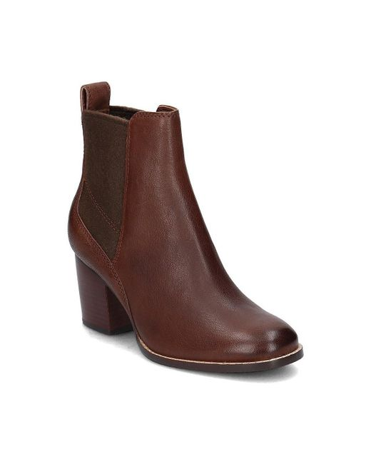 Clarks | Brown Othea Ruby Women's Low Ankle Boots In Multicolour | Lyst
