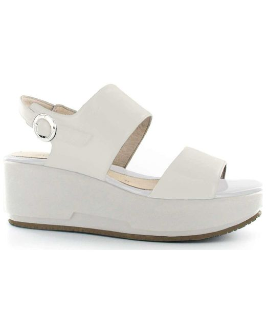 Stonefly - 108400 Wedge Sandals Women White Women's Sandals In White - Lyst