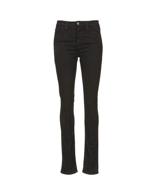 Acquaverde - TWIGGY Women's Skinny Jeans In Black - Lyst