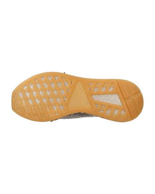 Adidas deerupt Runner hombre 's zapatos (instructores) en gris en gris para hombres