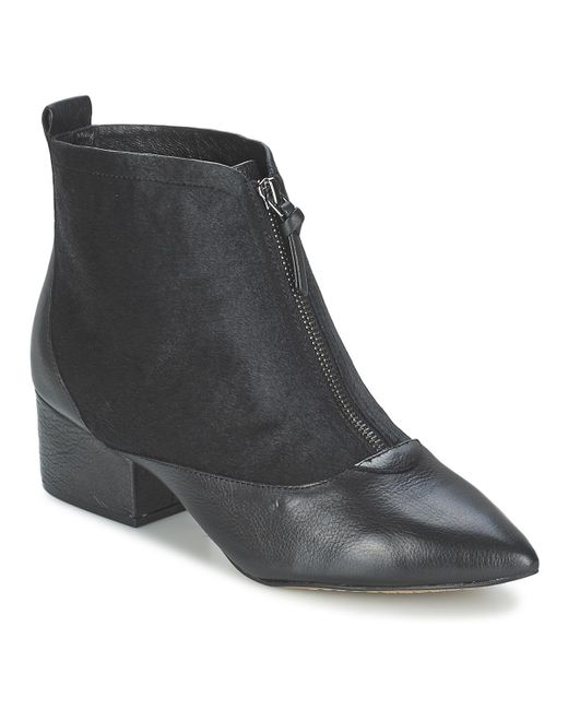 French Connection - Robrey Women's Low Ankle Boots In Black - Lyst