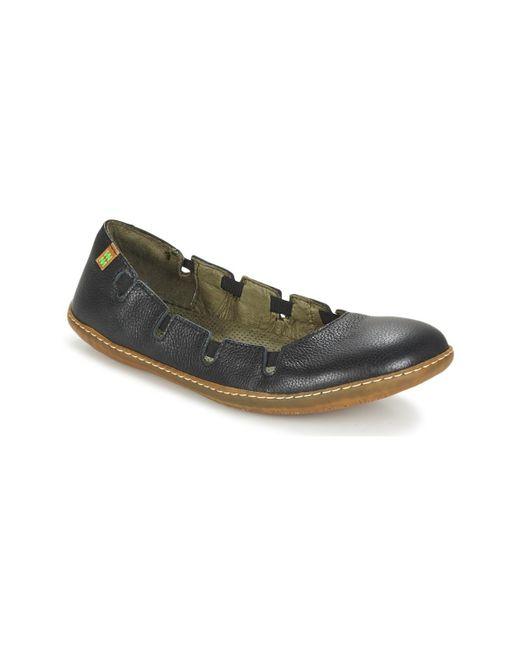 El Naturalista - El Viajero Women's Shoes (pumps / Ballerinas) In Black - Lyst
