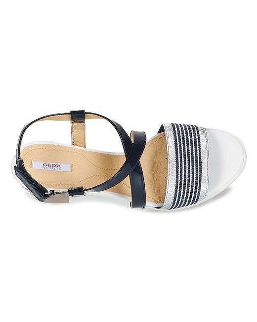 846cae47d1b ... Lyst Geox - Gintare B Women's Sandals In Blue ...