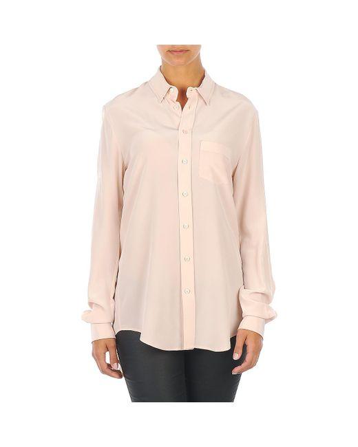 Joseph - Natural Garcon Women's Shirt In Beige - Lyst