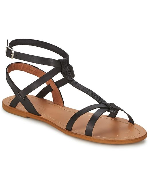 So Size | Bealo Women's Sandals In Black | Lyst