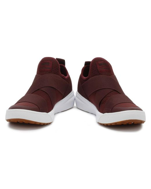 04cc80468ef ... Vans - Port Royale Burgundy Ultrarange Gore Trainers Women s Slip-ons ( shoes) In ...