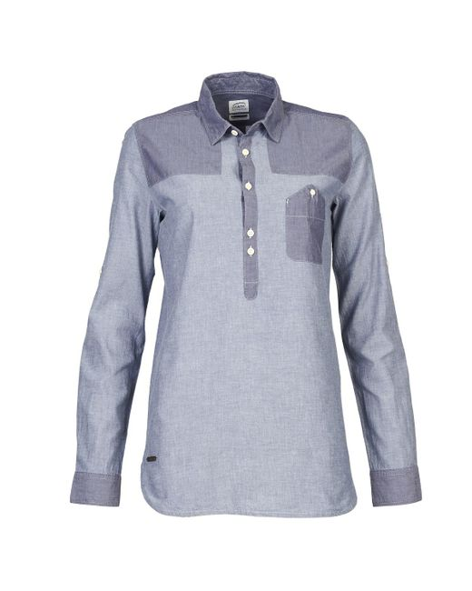 Oxbow - Arula Women's Shirt In Blue - Lyst