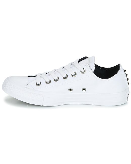 ... Converse - Chuck Taylor All Star Ox Canvas + Studs Women\u0027s Shoes ( trainers) In ...