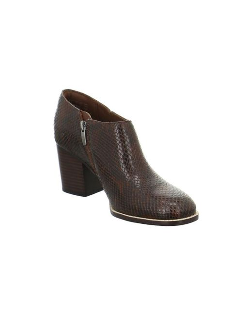 Clarks - Othea Ada Women's Low Ankle Boots In Brown - Lyst
