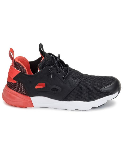Reebok Furylite Pop Women s Shoes (trainers) In Black in Black - Lyst 156c5cff9