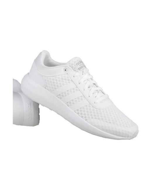 adidas cloudfoam rennen der männer in weißen schuhe (ausbilder) in weiß