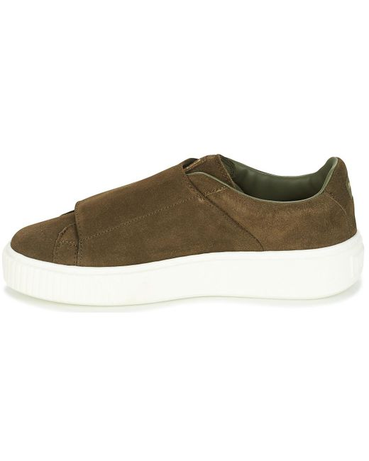Puma Suede Platform BigVelc women's Shoes (Trainers) in