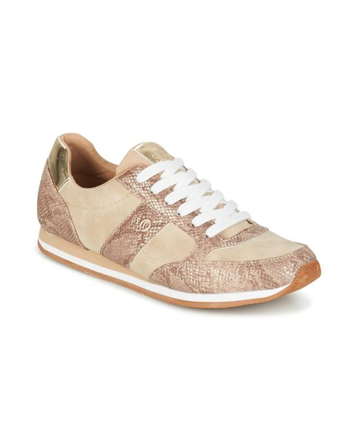 S.oliver - Natural Jabotine Women's Shoes (trainers) In Beige - Lyst