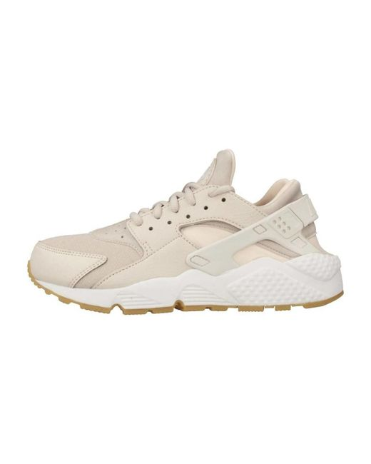 c6245a90ccc ... Lyst Nike - Natural Air Huarache Run Women s Shoes (trainers) In Beige  ...