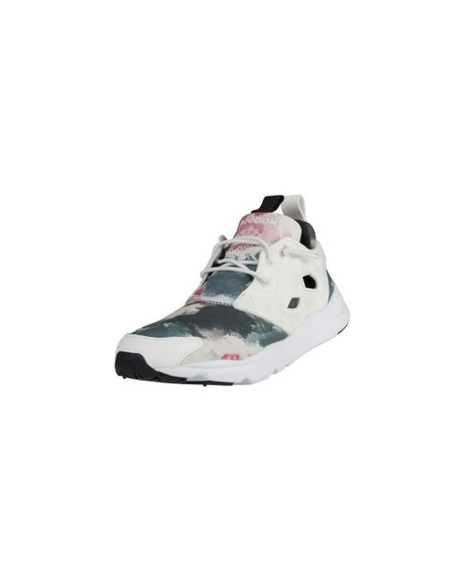Reebok Furylite Sr Women s Shoes (trainers) In White in White - Lyst 56526c34d