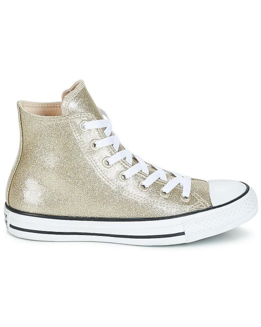 8f07f08dfc64 ... Converse - Metallic Chuck Taylor All Star Synthetic Hi Women s Shoes  (high-top Trainers ...