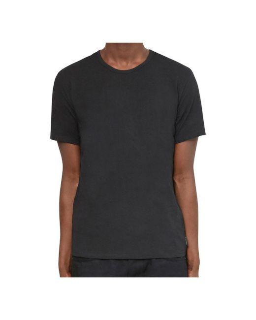 Calvin Klein Jeans | 2p Crew Neck T-shirt Black/white Men's T Shirt In Black for Men | Lyst