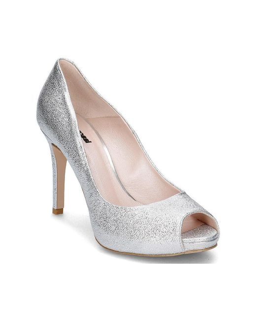 Gino Rossi | Metallic Olivia Women's Court Shoes In Silver | Lyst