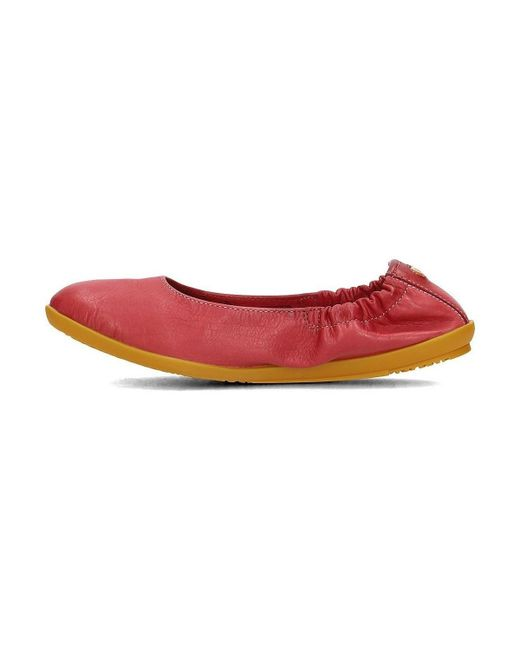 Red in Women's Ballerinas Softinos pumps Shoes P900380015 Red In c7Fyqf8Wa